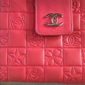 Authentic Chanel Trifold wallet